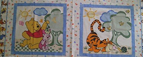 Disney Winnie the Pooh & FRIENDS Kissen Baumwolle Quilten fabric-2heraklithplatten