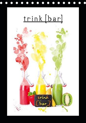 trink[bar] (Tischkalender 2019 DIN A5 hoch): 12 trinkbare Motive für das ganze Jahr (Monatskalender, 14 Seiten ) (CALVENDO Lifestyle)