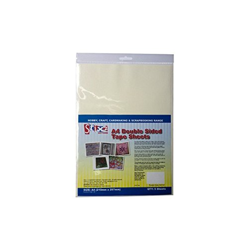 stix2-double-sided-a4-clear-adhesive-sheets-pack-of-5