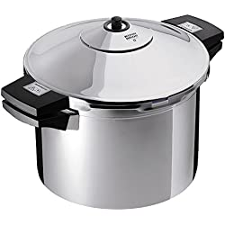 Kuhn Rikon Duromatic Inox Pressure Cooker With Side Grips (22cm). 8.0 Litre