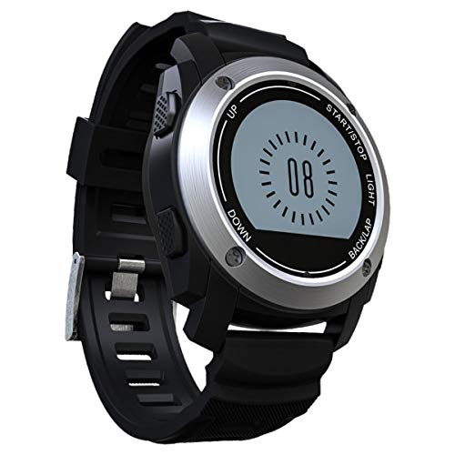 TYWZF Fitness Tracker GPS Al Aire Libre Paseo Deporte Ritmo Cardíaco Smart Band