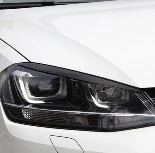 Preisvergleich Produktbild Emblem Trading Böser Blick Scheinwerfer Blende ABS Kunststoff Schwarz Mittelkonsole Armaturenbrett Verkleidung Autozubehör