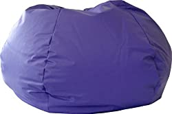 Gold Medal 30010546817 Medium Leather Look Beanbag Tween Size Purple