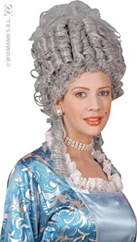 Marie Antoinette Grey Wig for Hair Accessory Fancy