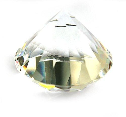 PRISMA Glas Diamant - Heilstein Schutzstein Meditation Astrologie Esoterik Yoga Physik Reinigung Licht Optik