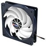 Titan TFD-12025H12ZP/KU(RB) ventilateur, refroidisseur et radiateur - Ventilateurs, refoidisseurs et radiateurs (Boitier PC, Ventilateur, 35 dB, Noir, Blanc, 3,84 W, 0,32 A)