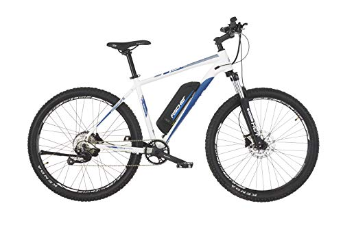 """FISCHER E-Bike MTB MONTIS 2.0 (2019), perlweiߟ matt, 27,5"""", RH 48 cm, Hinterradmotor 45 Nm, 48V Akku"""