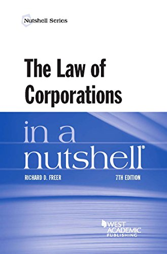 The Law of Corporations in a Nutshell (Nutshells) (English Edition)