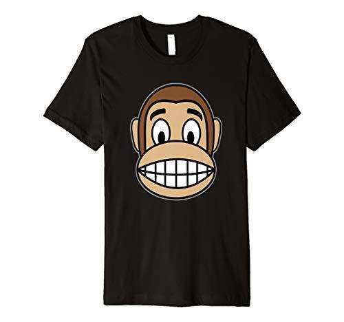 Affe Kostüm Shirt für Dschungel Party Wildlife Zoo