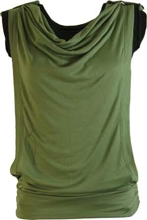 Goa Top rétro DB 2 olive / Tops et chemises/ CŽest une variante de produit. Image et couleur peut être différente de la principale Variante de produit :
