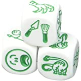 Rory's Story Cubes Expansion Prehistoria Action Game by Gamewright