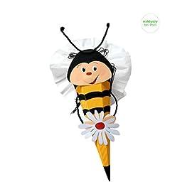 Schultte-Bastelset-Biene-Zuckertte-aus-3D-Wellpappe-68cm-hoch