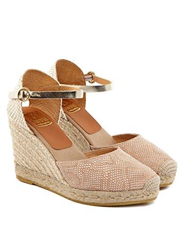 KANNA Damen Sandaletten Rosa