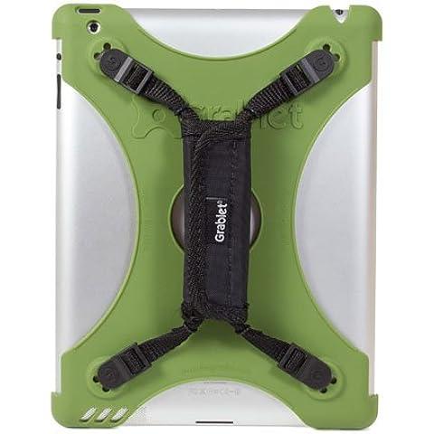 [IPad2 / Nuovo iPad / terza e quarta generazione] supporto maniglia (Wall & cinghia anello di montaggio e digitando la funzione del basamento male) verde scuro (japan import)