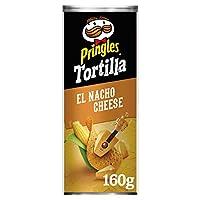 Pringles Nacho Cheese Flavored Tortilla Chips 160 grams Can