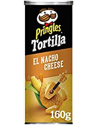 Pringles Tortilla Nacho Cheese Chips, 160 g