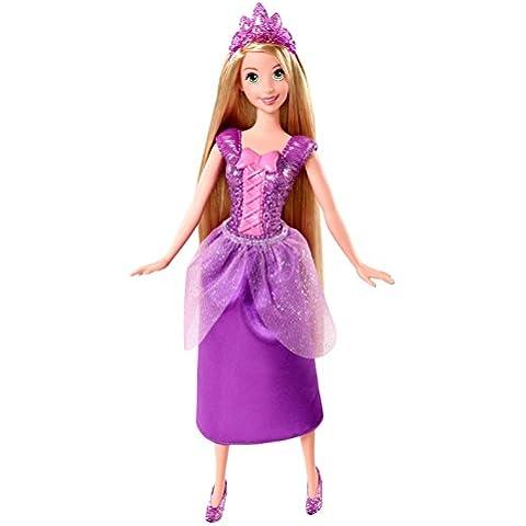 Princesas Disney - Princesa Rapunzel purpurina (Mattel BBM05)