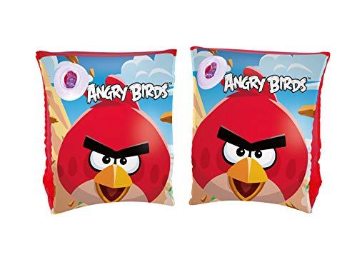 bestway-27221 Brassards Angry Birds 23X15, 27221, Mulicolore, 9 x 6 inch