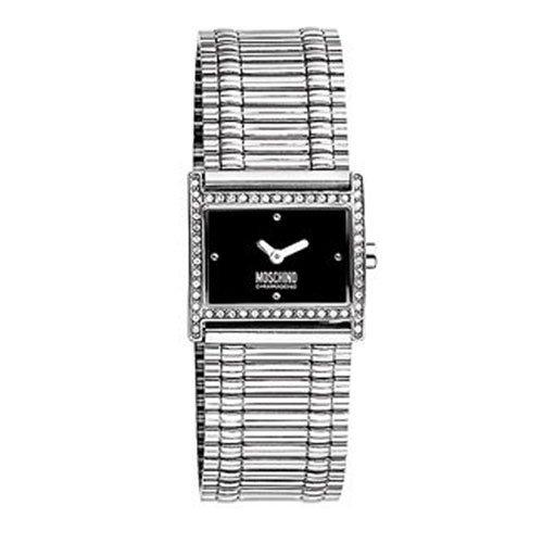 Moschino MW0372–Orologio per Donna, Cinturino in Acciaio