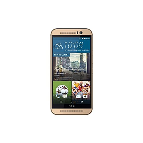 Htc Design (HTC One M9 Smartphone (5 Zoll (12,7 cm) Touch-Display, 32 GB Speicher, Android 5.0.2) gold)