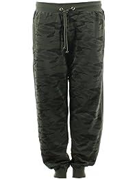 86cb49b1e9e2 Maxfort Taglie Forti Uomo Pantalone Tuta Camouflage Taglia 6XL