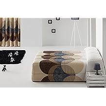 DECOARTESANAL-Edredón Conforte CALLAO para cama 150cm,color marrón