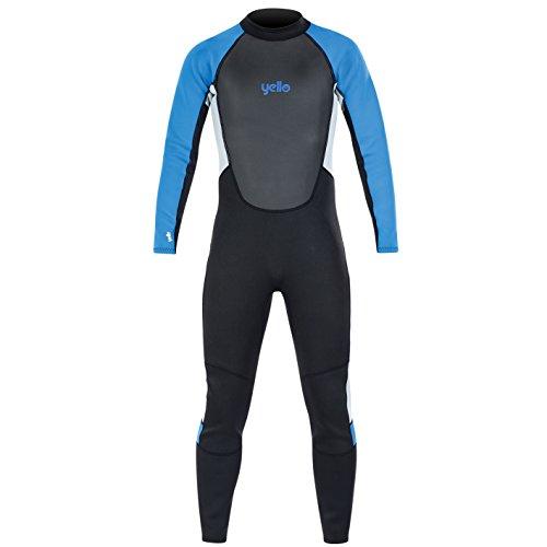 Yello Herren Blacktip Long Neoprenanzug, Blau, 3XL