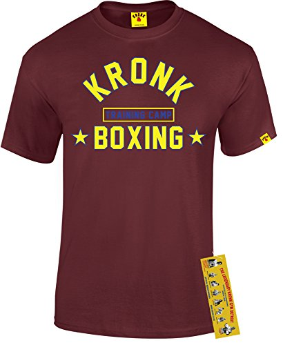 Kronk -  T-shirt - Uomo Rosso Bordeaux