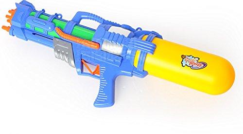 Wasser Jet Spielzeug High Druck Range Shooting Kind Shooting Spielzeug Strand Wasser Spritzwasser Spielzeug blau (eine für Verkauf) Größe 51cm * 20cm ()