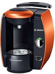 Bosch TAS4014-Coffee (Pod Coffee Machine, Anthracite, Orange, Coffee/Espresso, Cappuccino)