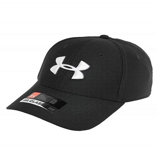 Under Armour Men's Blitzing 3.0 cap, Cappello Uomo, Nero Black/White 001), M/L