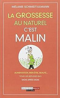 La grossesse au naturel c'est malin par Mélanie Schmidt-Ulmann