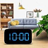 FBGood Réveil Numérique - Réveil Numérique LED - Reveil Matin pour Gros Dormeurs...