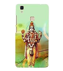 Fuson Designer Phone Back Case Cover Vivo V3Max ( Lord Dhanvantari )