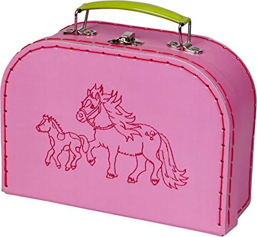 Die Spiegelburg 15311 Spielkoffer Mein Kleiner Ponyhof (Gestickte Ponys) - Gesticktes Pony