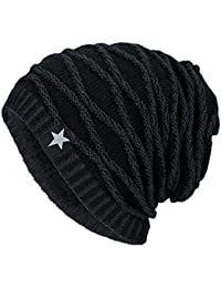 Elecenty Cappello Unisex Winter Cappello invernale di lana Beanie Cap Warm  Outdoor Fashion Hat 55e5257ae3b8