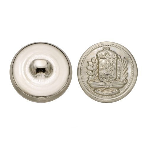 cc-metal-products-5271-crest-metal-button-size-30-ligne-nickel-36-pack-by-cc-metal-products-corp