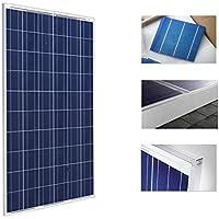 WccSolar Placa Solar 250w Panel Solar 24v Fotovoltaico Policristalino