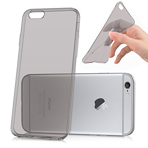 VCOMP® Ultra dünne Silikon Handy Schutzhülle für Apple iPhone 6/ 6s - GRAU GRAU