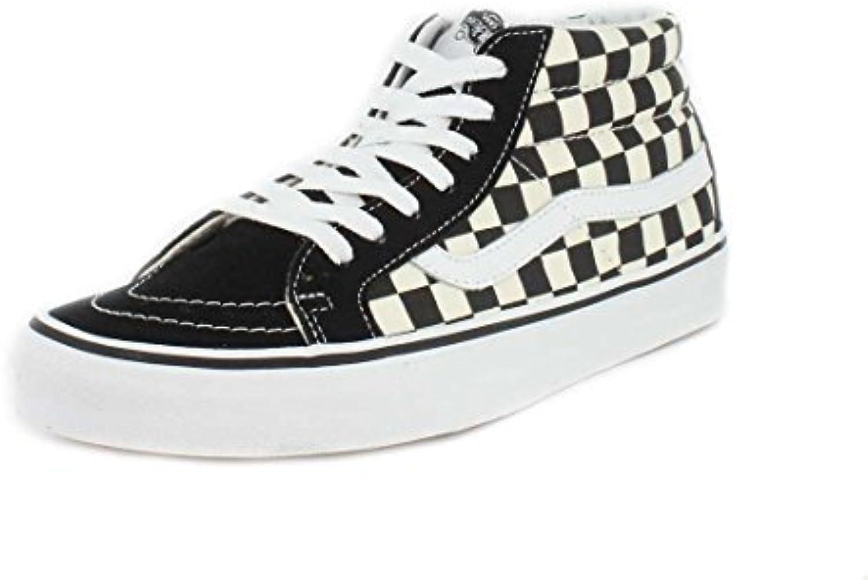 Vans SK8 Hi Mid Sneaker Schwarz/Weiß  Billig und erschwinglich Im Verkauf