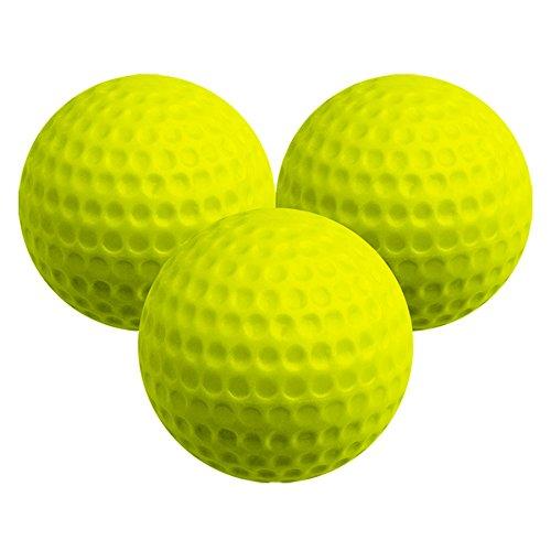 Longridge Lot de 6 balles de distance à 30% Jaune