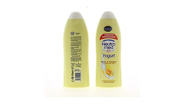 Bagno Neutromed : Neutromed bagno schiuma yogurt miele vaniglia ml