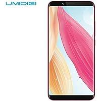 Cellulari e Smartphone UMIDIGI S2 Lite Smartphone Android 7.0 Dual SIM con, Display da 6.0 Pollici in 18:9, Doppia Fotocamera 16.0MP + 5.0MP, Face ID, 5100mAh Batteria Lunga Durata, Telefonia Mobile 4G - Processore MT6750T Octa Core 1.5 GHz 4 GB + 64 GB - Nero
