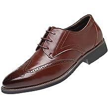 Covermason Zapatos Zapatos casuales para hombres, estilo casual transpirables para hombres de negocios de estilo