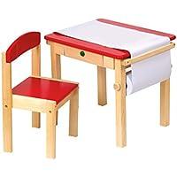 Guidecraft Mal-Tisch mit Stuhl, rot preisvergleich bei kinderzimmerdekopreise.eu