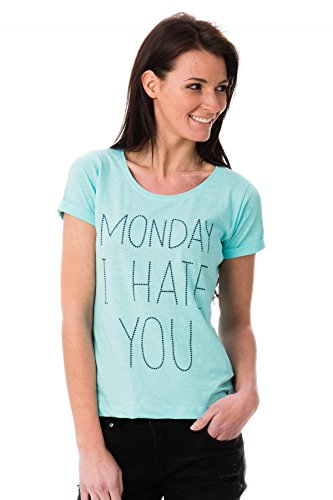 Kaporal Tee Shirt Apion ice p17 Turquoise