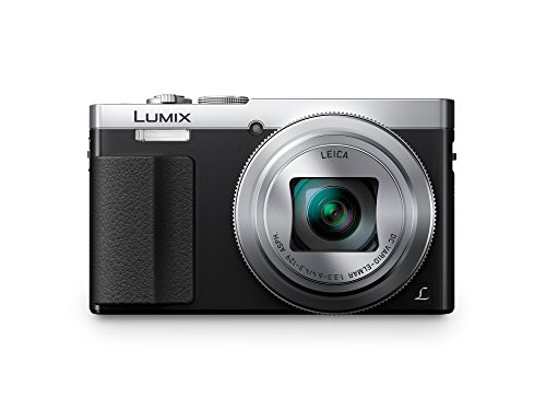 Panasonic DMC-TZ71EG-S Lumix Kompaktkamera (12,1 Megapixel, 30-fach opt. Zoom, 7,6 cm (3 Zoll) LCD-Display, Full HD, WiFi, USB 2.0) silber Kamera, Digital-kamera, Usb