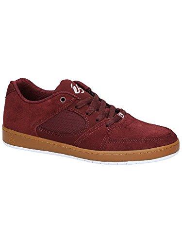 Chaussures de skate Homme ES Accel fin Chaussures de skate burgundy/gum
