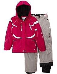 Peak Mountain Gacial/nh Ensemble de ski + ceinture de snow Fille