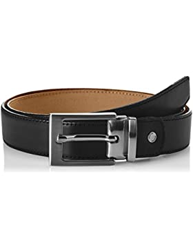 SELECTED HOMME Slhbaxter Leather Belt Noos B, Cinturón para Hombre
